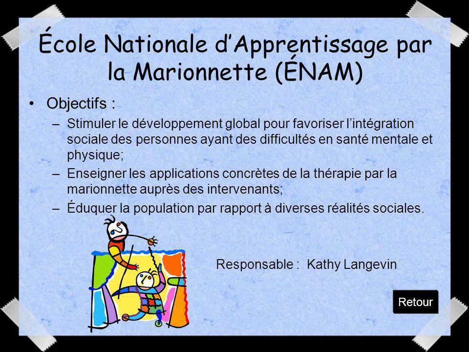École Nationale d'Apprentissage par la Marionnette (ÉNAM)
