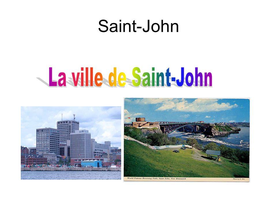 Saint-John La ville de Saint-John