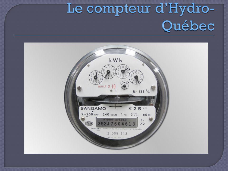 Le compteur d'Hydro-Québec