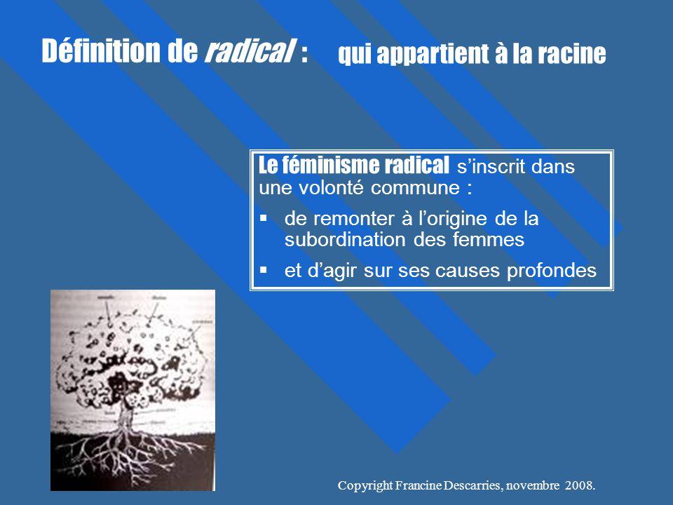 Définition de radical :