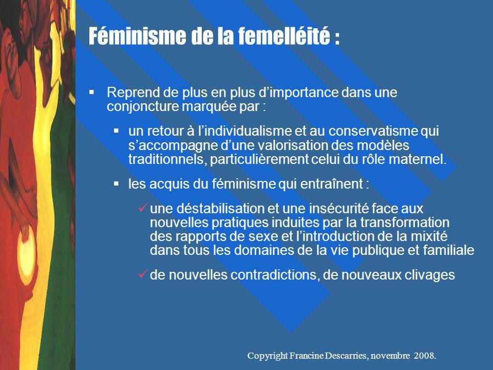 Féminisme de la femelléité :