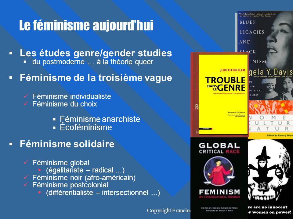 Le féminisme aujourd'hui