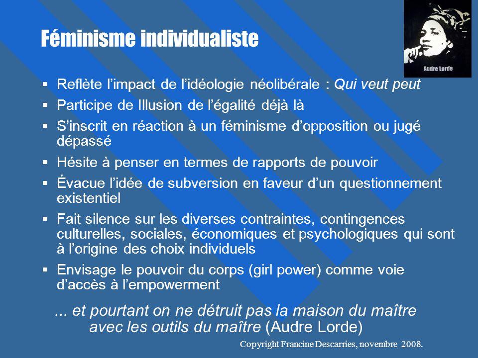 Féminisme individualiste