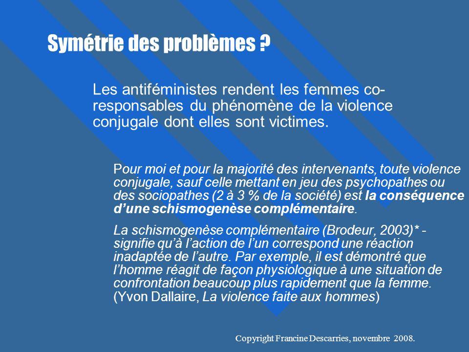 Symétrie des problèmes