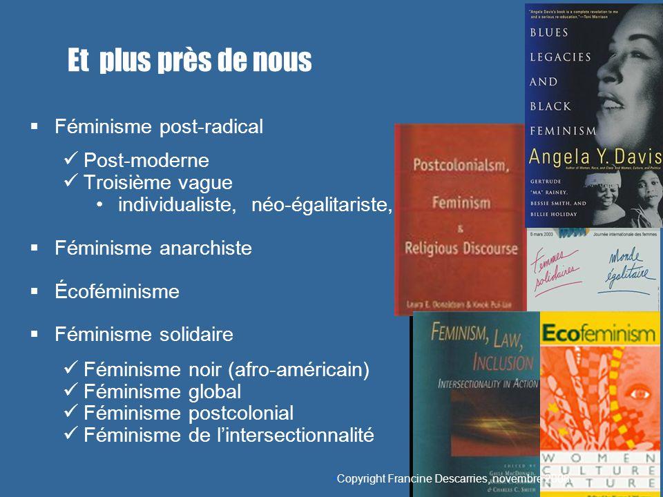 Féminisme post-radical Post-moderne Troisième vague