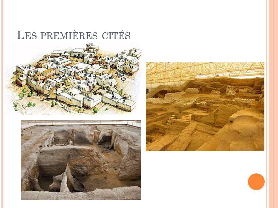 Les premières cités