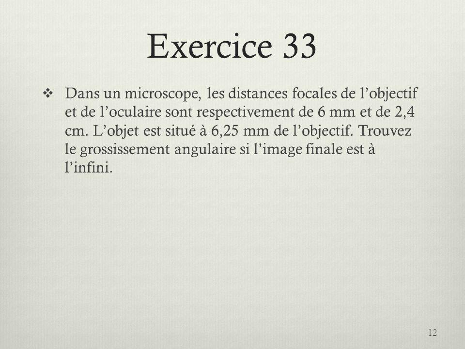 Exercice 33