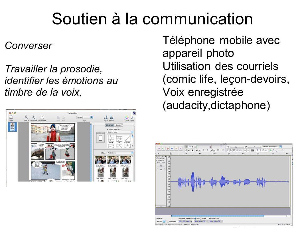 Soutien à la communication