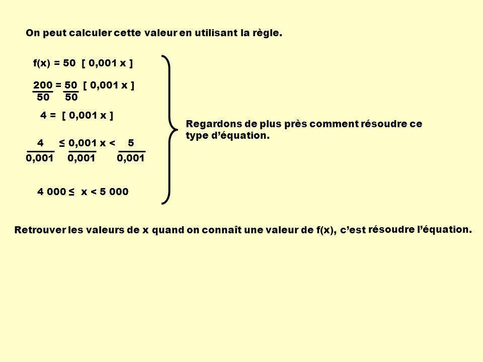 On peut calculer cette valeur en utilisant la règle.