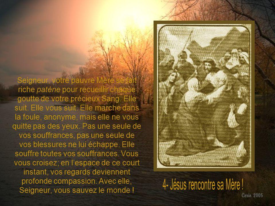 4- Jésus rencontre sa Mère !