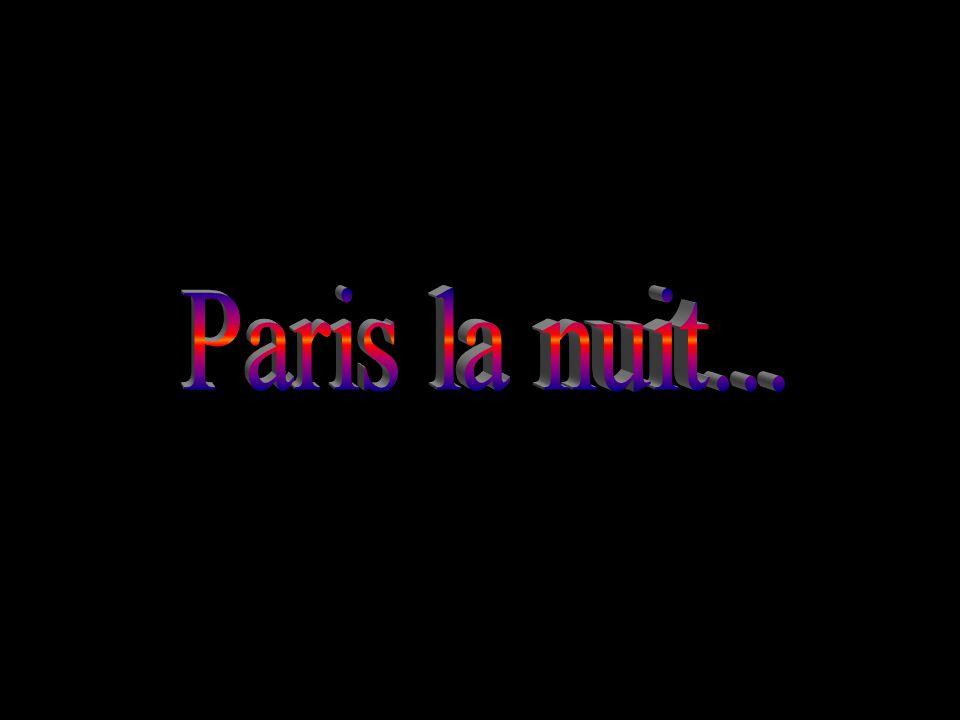 Paris la nuit...