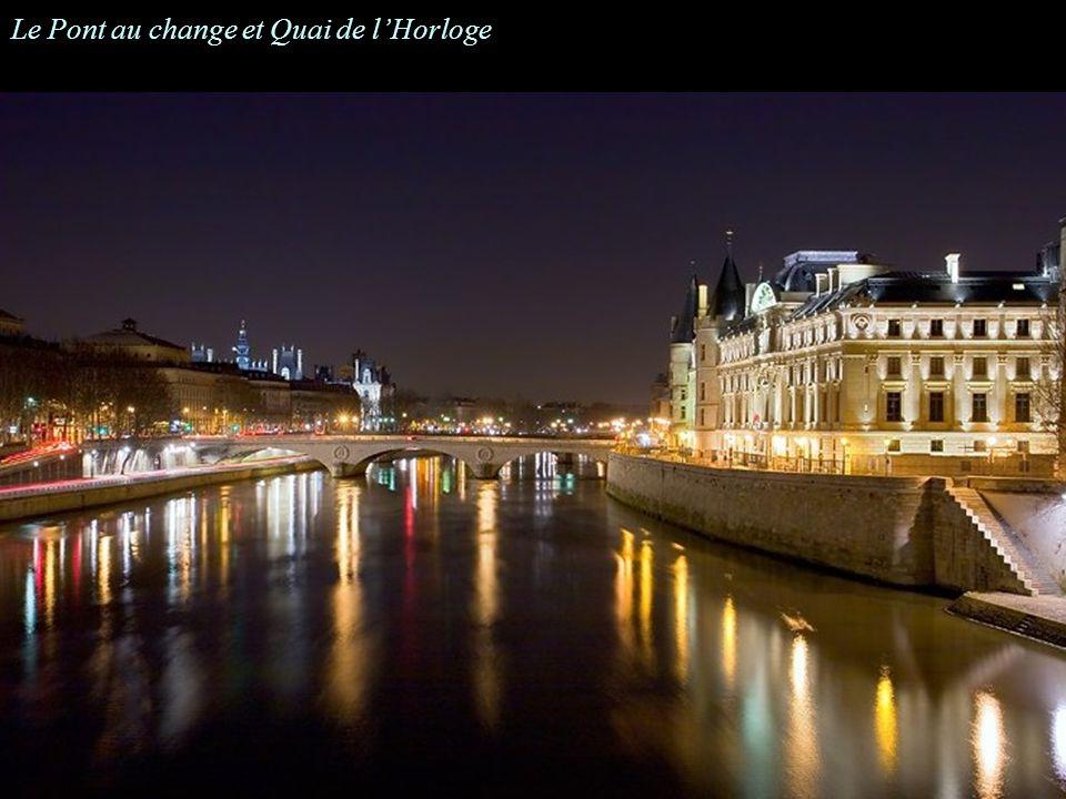 Le Pont au change et Quai de l'Horloge
