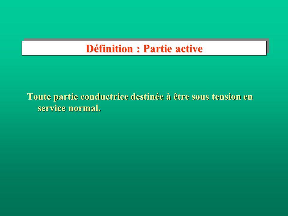 Définition : Partie active