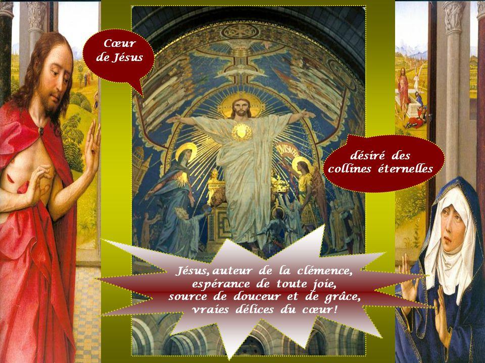 Jésus, auteur de la clémence, espérance de toute joie,