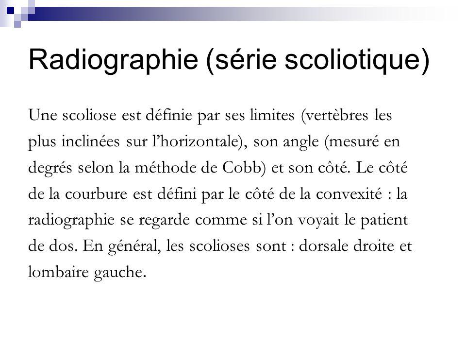 Radiographie (série scoliotique)