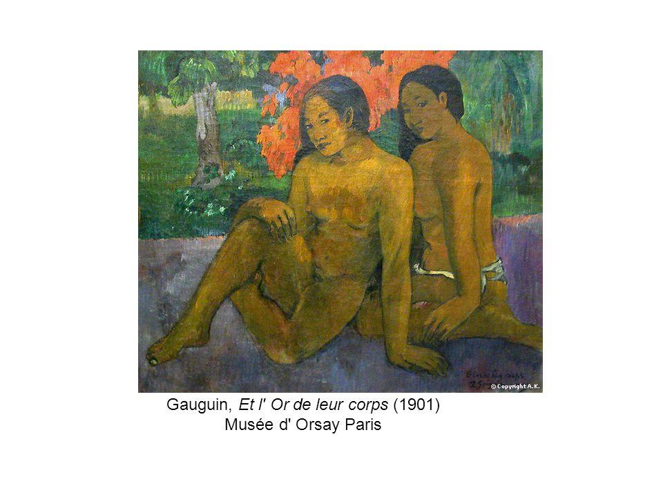 Gauguin, Et l Or de leur corps (1901)