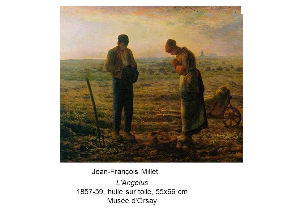 L Angelus 1857-59, huile sur toile, 55x66 cm Musée d Orsay