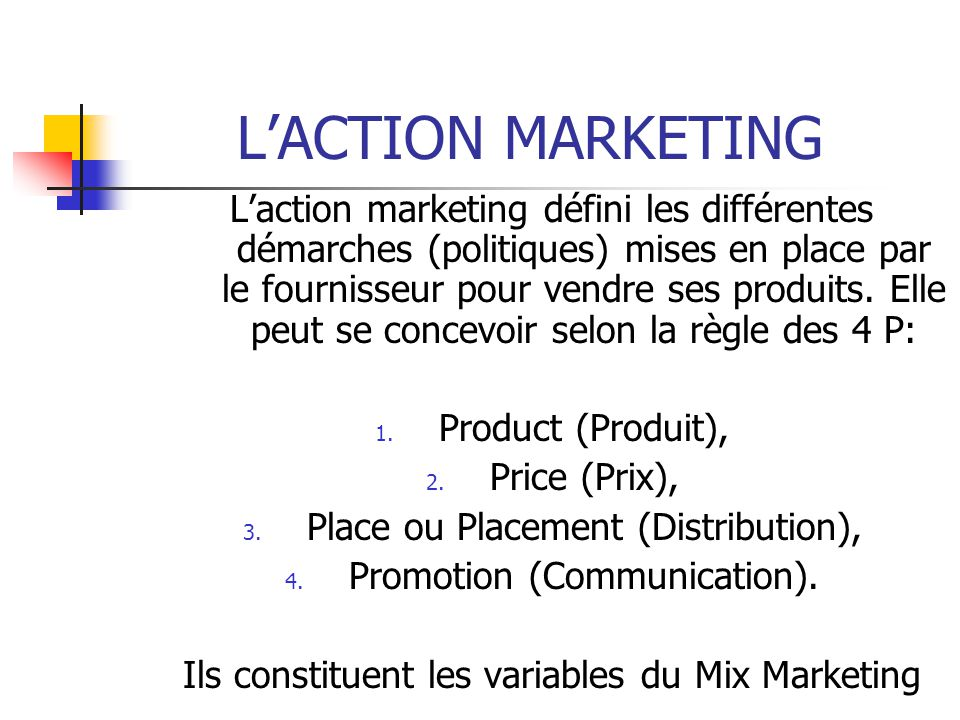 L'ACTION MARKETING