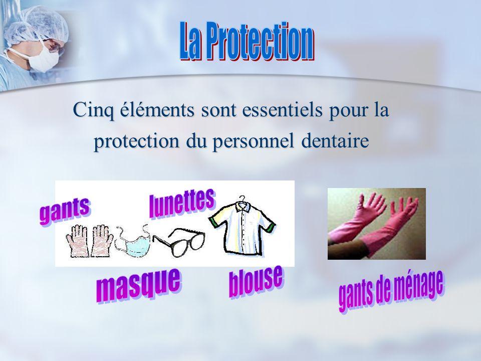 La Protection lunettes gants blouse gants de ménage masque