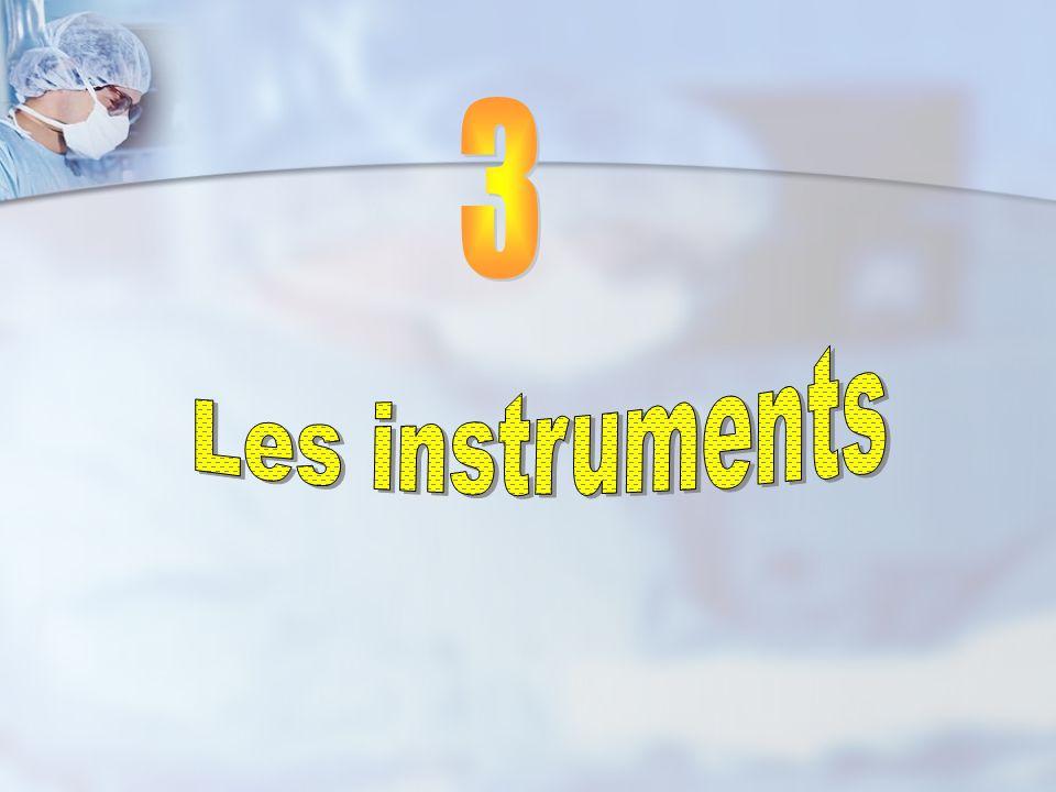 3 Les instruments