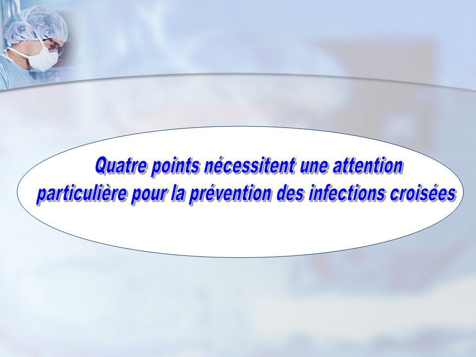 Quatre points nécessitent une attention