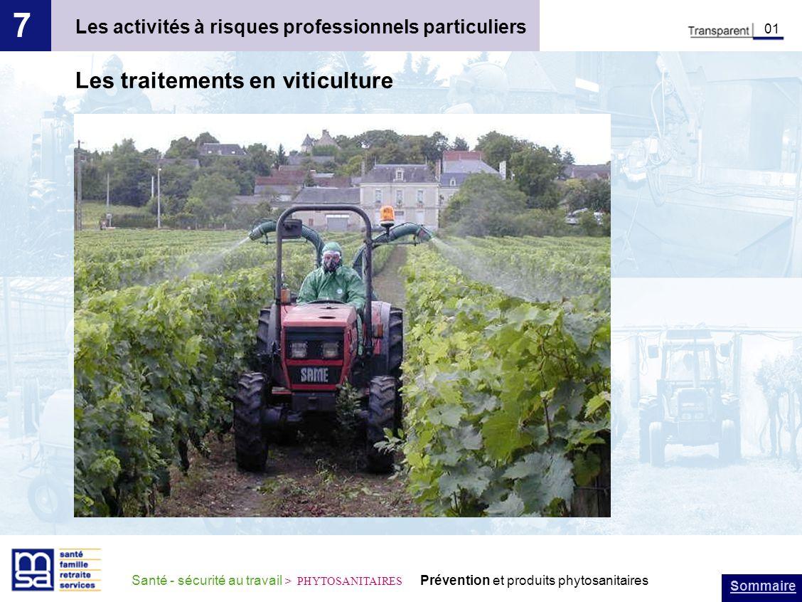 7 Les traitements en viticulture