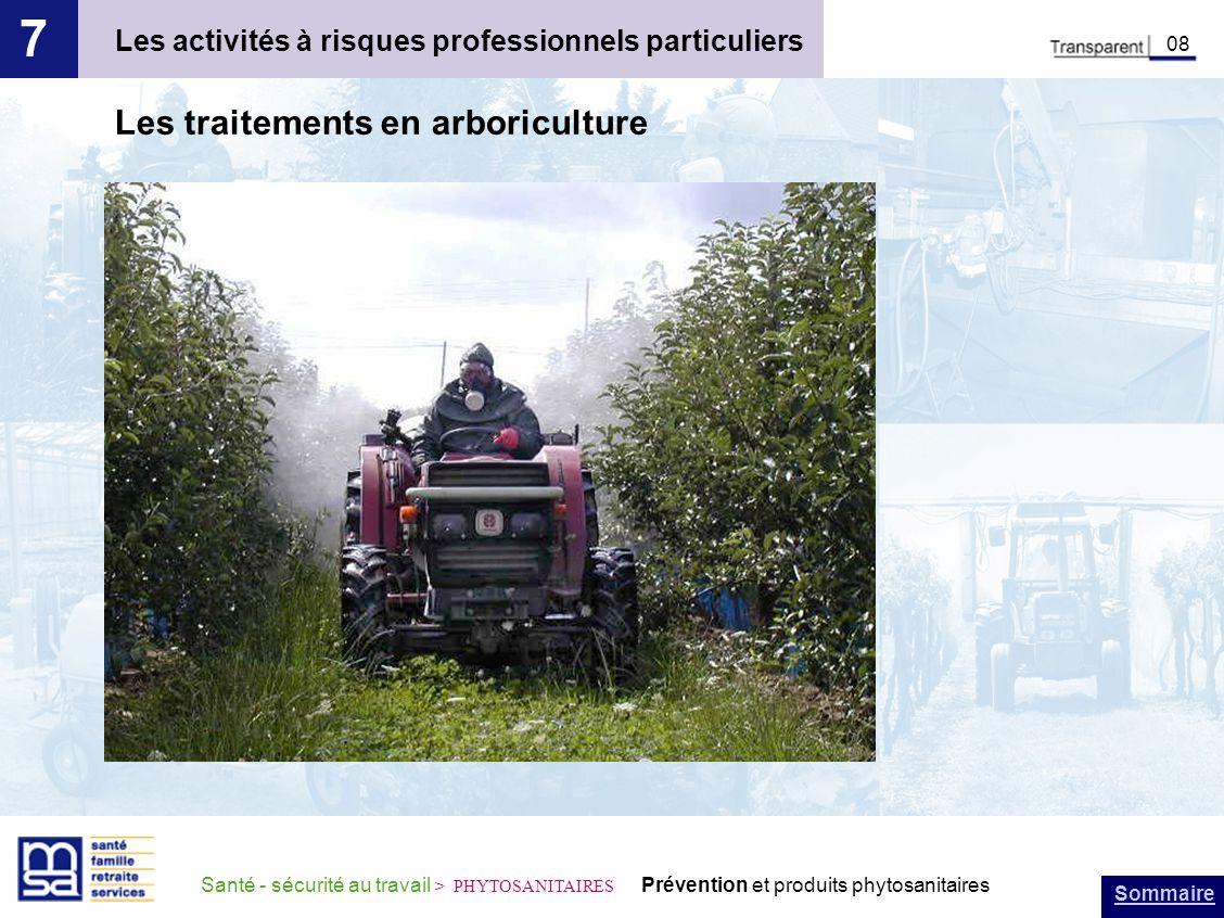 7 Les traitements en arboriculture