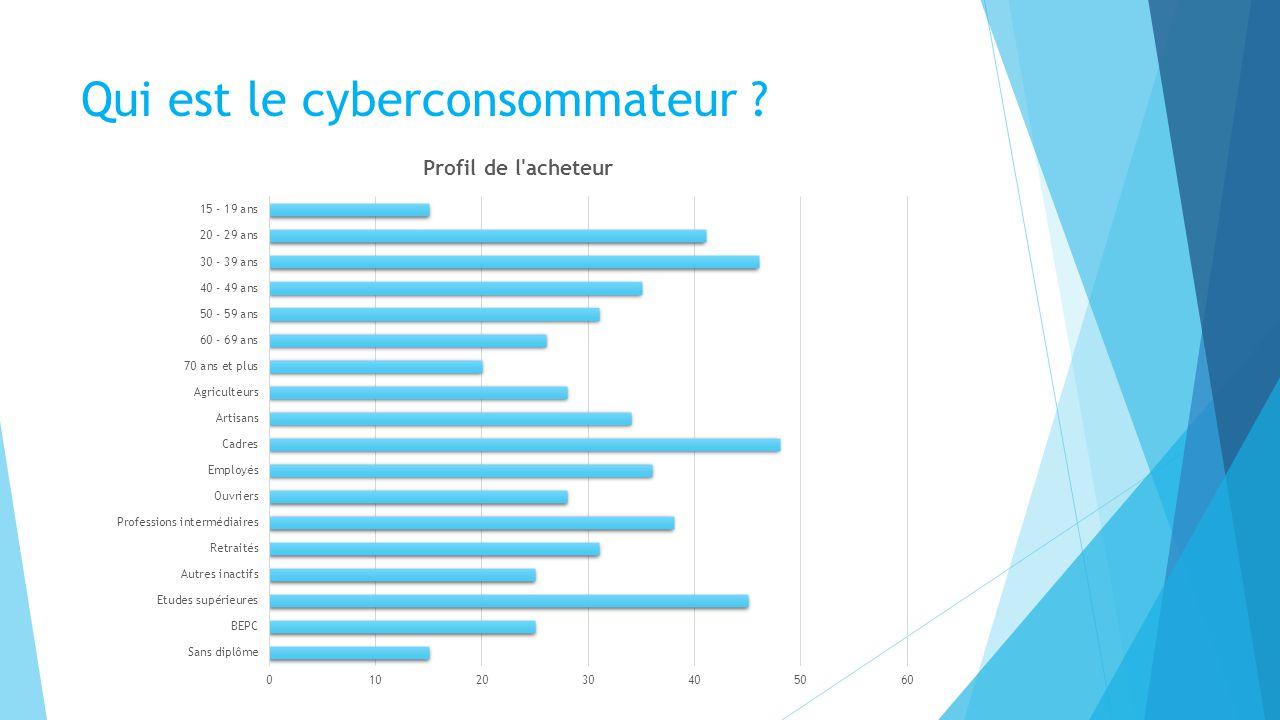 Qui est le cyberconsommateur