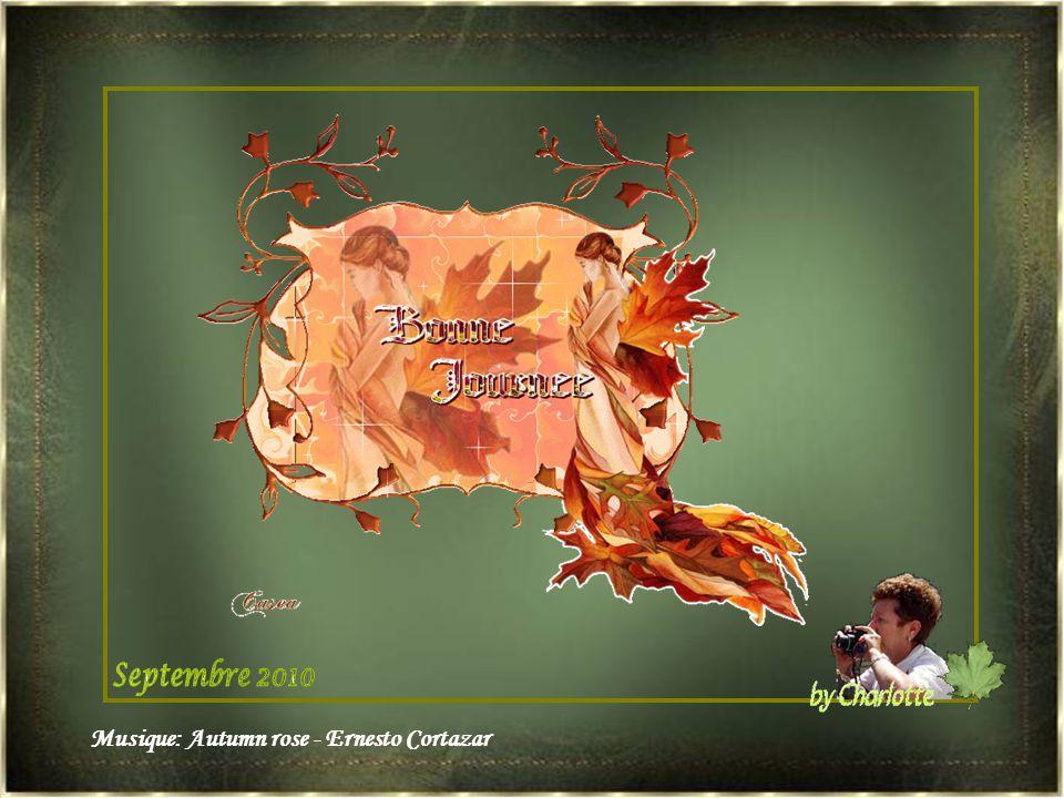 Septembre 2010 Musique: Autumn rose - Ernesto Cortazar