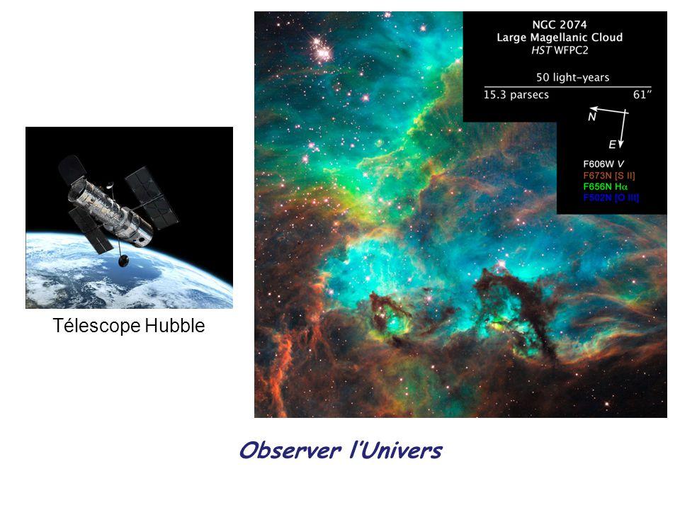Télescope Hubble Observer l'Univers