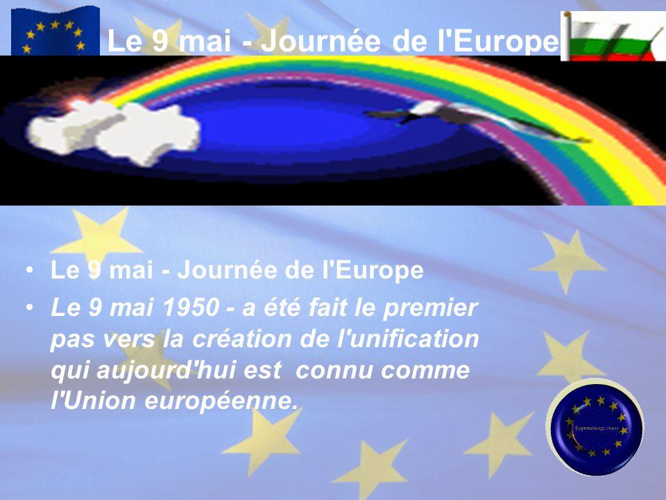 Le 9 mai - Journée de l Europe