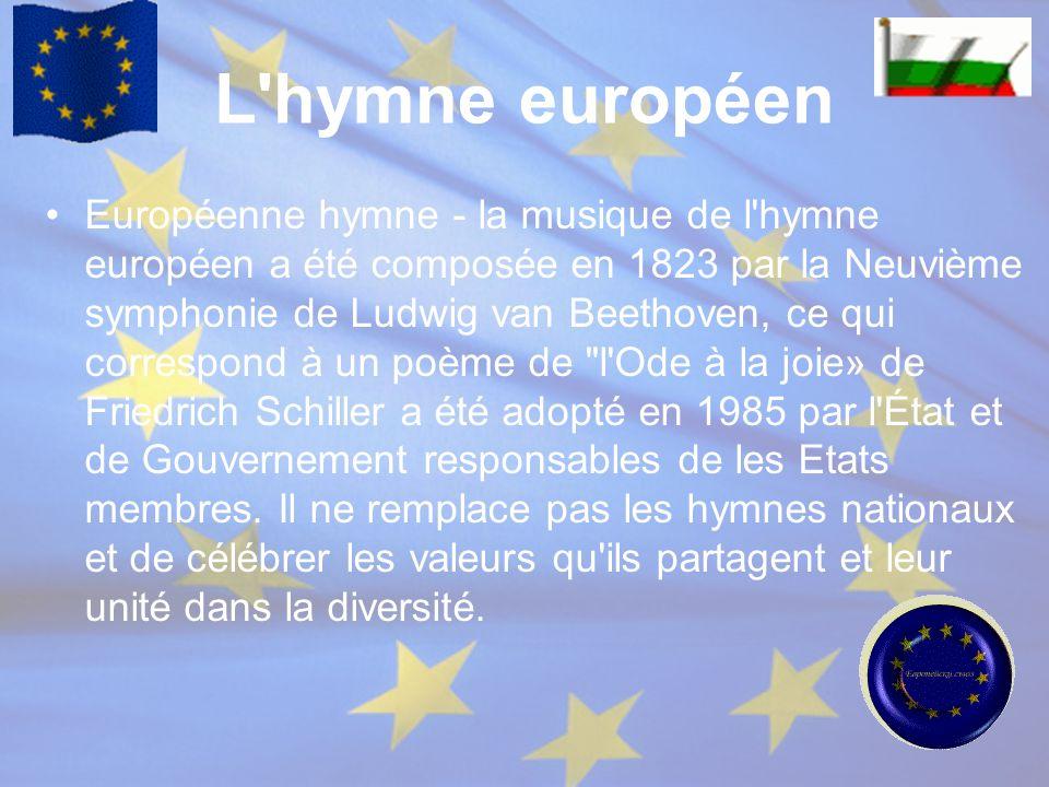 L hymne européen