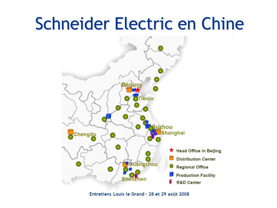 Schneider Electric en Chine