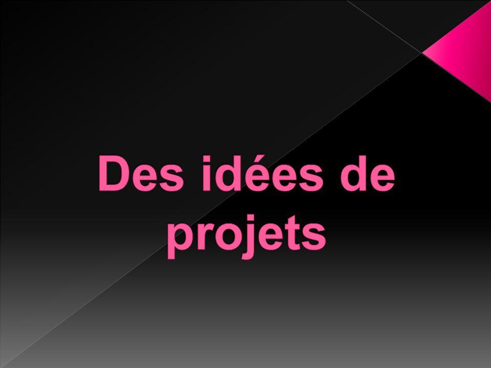 Des idées de projets