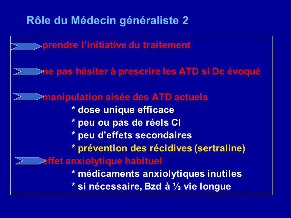 Rôle du Médecin généraliste 2