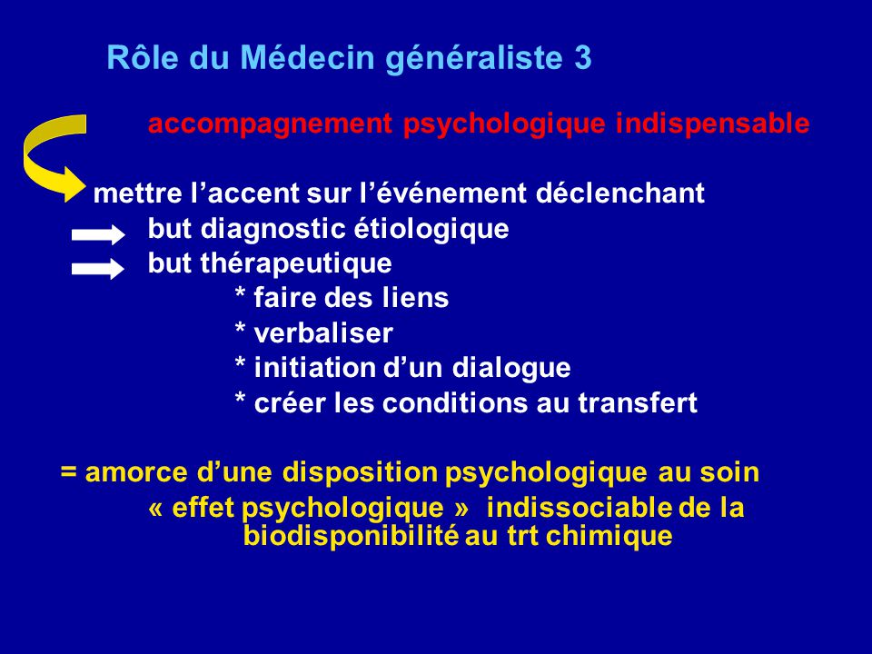 Rôle du Médecin généraliste 3