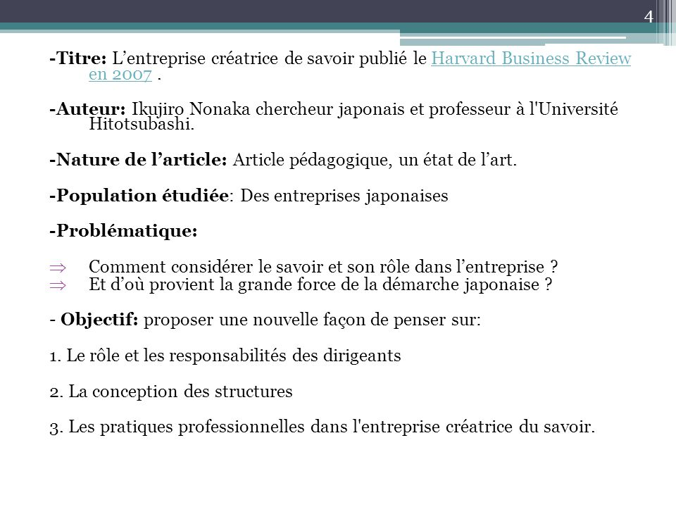 -Nature de l'article: Article pédagogique, un état de l'art.
