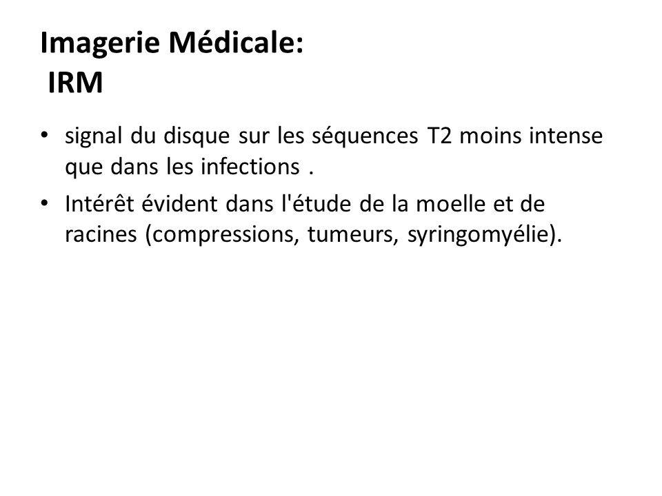 Imagerie Médicale: IRM