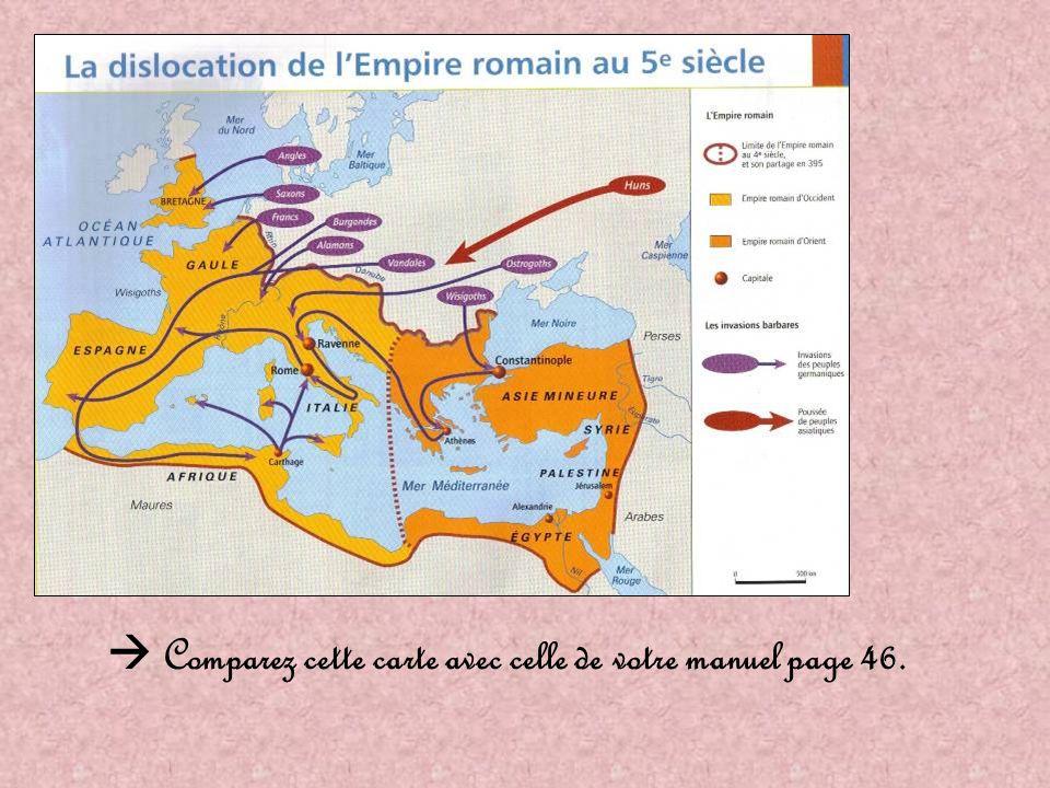  Comparez cette carte avec celle de votre manuel page 46.