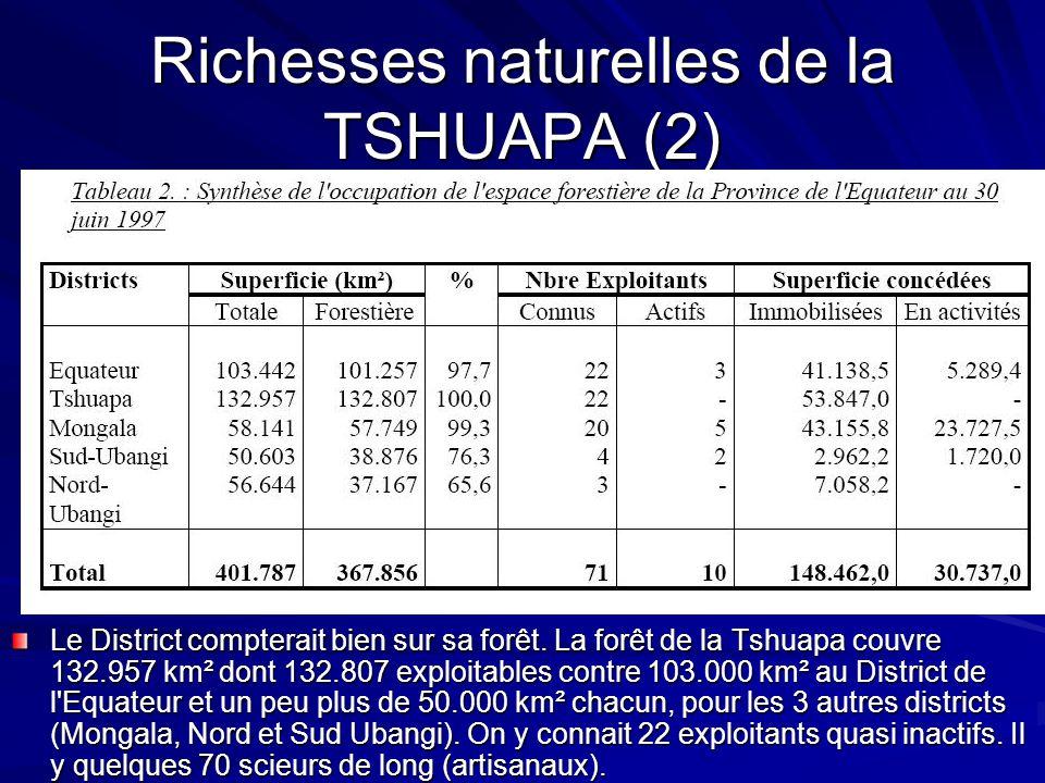 Richesses naturelles de la TSHUAPA (2)