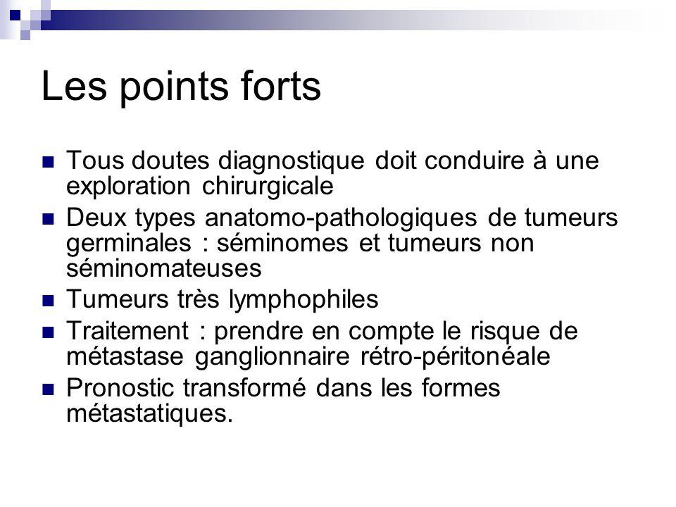 Les points forts Tous doutes diagnostique doit conduire à une exploration chirurgicale.