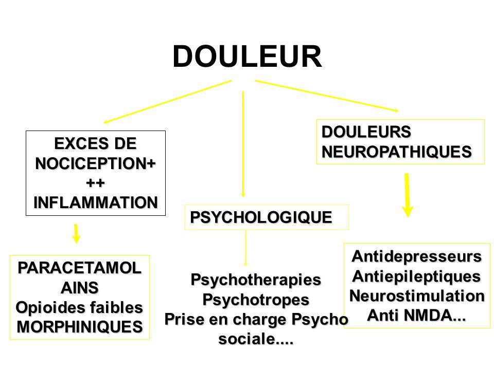 Prise en charge Psycho sociale....