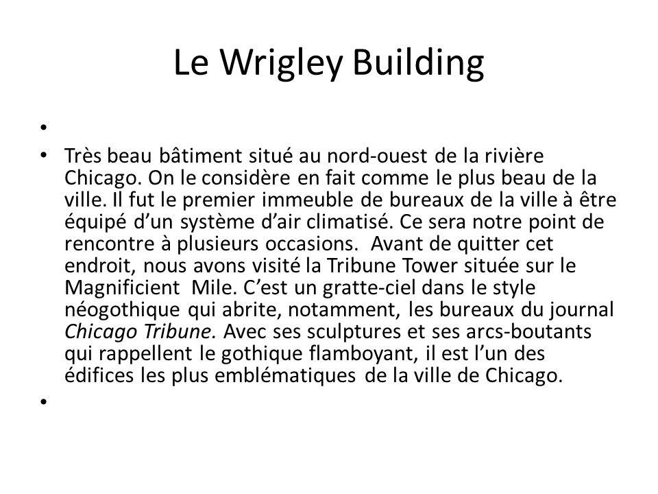 Le Wrigley Building