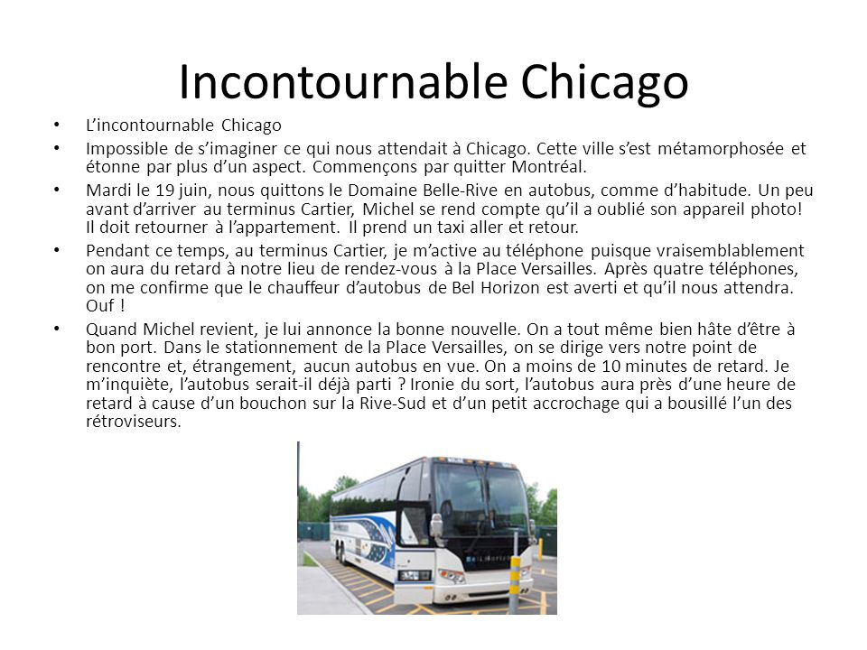 Incontournable Chicago