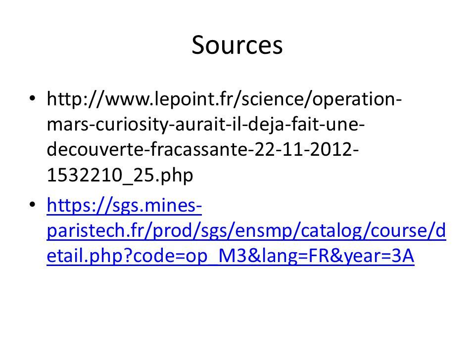 Sources http://www.lepoint.fr/science/operation-mars-curiosity-aurait-il-deja-fait-une-decouverte-fracassante-22-11-2012-1532210_25.php.