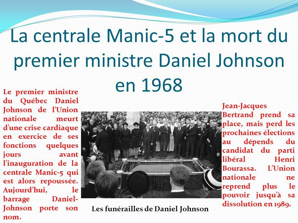 Les funérailles de Daniel Johnson