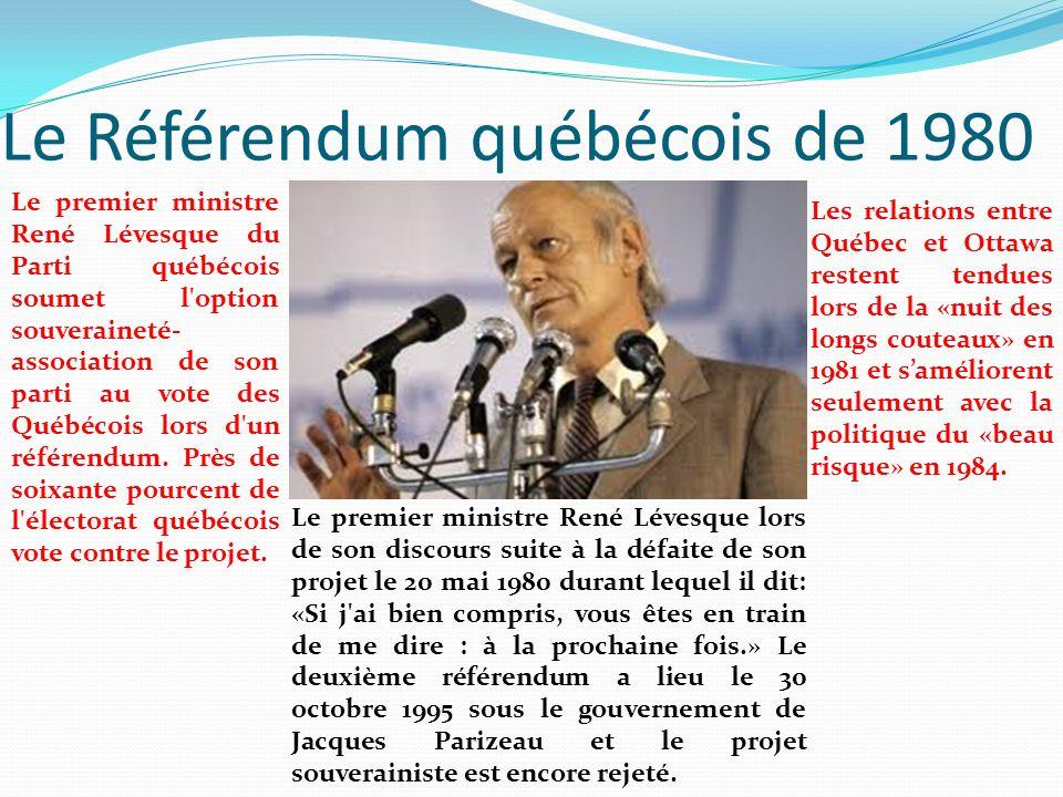 Le Référendum québécois de 1980