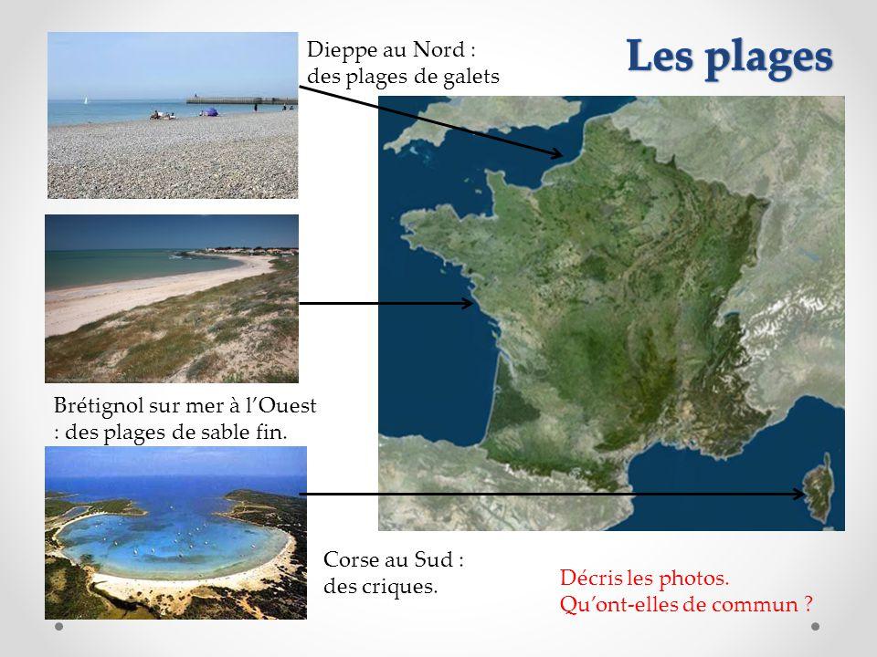 Les plages Dieppe au Nord : des plages de galets