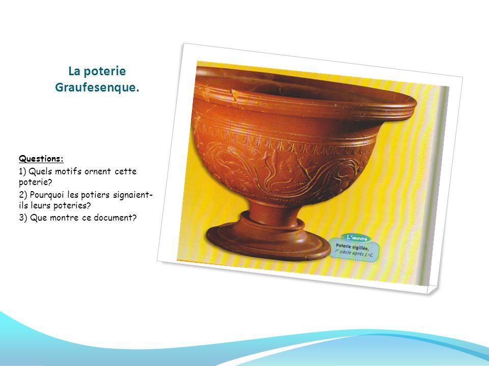 La poterie Graufesenque.