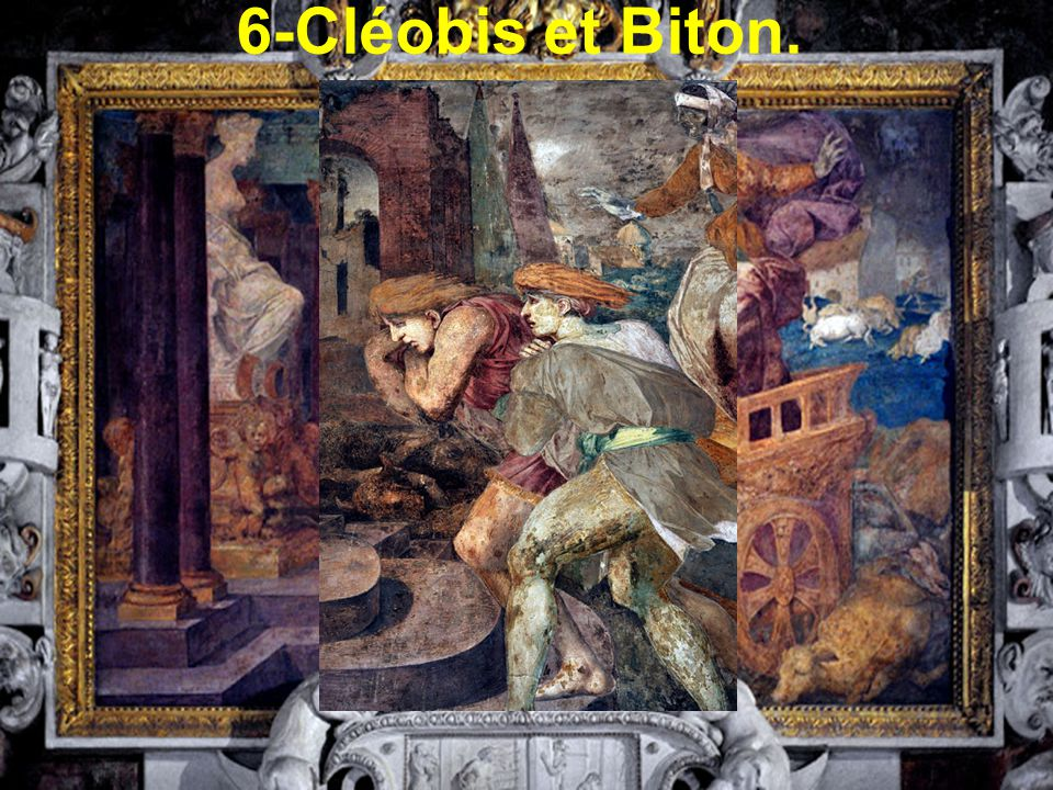 6-Cléobis et Biton.